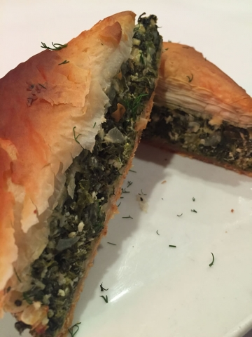 Zaro's Legendary Spinach Pie